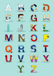 themed letters gleagues news now you your abcs