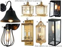 Vintage Outdoor Lights Brass Outdoor Light Fixtures Affordable Lighting 1 Vintage