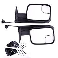 amazon com dedc dodge towing mirrors dodge ram tow mirrors pair