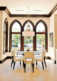 Dining Room Drum Chandelier Drum Chandelier Convention Miami Contemporary Dining Room Image