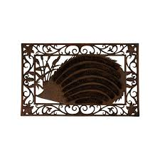 Cast Iron Doormat Cast Iron Doormat Coir Brushes With Hedgehog Order