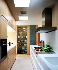 contemporary narrow kitchen with ideas hd pictures 16664 fujizaki