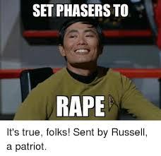 Kobe Rape Meme - set phasers to rape it s true folks sent by russell a patriot