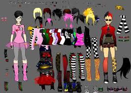emo dress up games emo vs punk dress up by shidabeeda on deviantart