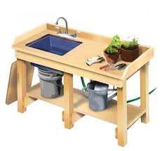 potting table with sink might want to see if i can find something that s more like a potting