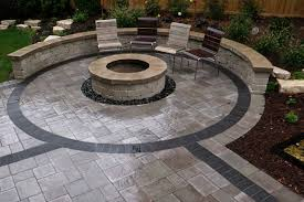 Paver Patio Diy Paver Designs For Backyard Livegoody