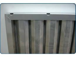 grille hotte cuisine filtres à choc inox pour hottes de cuisine contact innov air