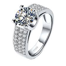 aliexpress buy 2ct brilliant simulate diamond men aliexpress buy 2 carat simulate diamond ring for men hearts