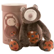 moulin roty meuble moulin roty peluche ours ourson rooa marron brun les zazous doudou