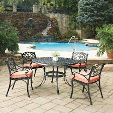 The Home Depot Patio Furniture by 4 5 Person Patio Dining Furniture Patio Furniture The Home Depot