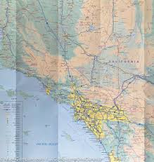 Map If The Usa by Map Of The Pacific Coast Of The Usa Itm U2013 Mapscompany