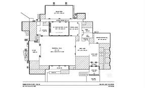 Ben Rose House Floor Plan Sacramento Scottish Rite
