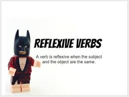 reflexive verbs in spanish with lego batman spanish teaching