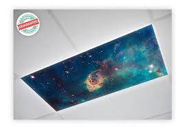 astronomy fluorescent ceiling light covers octo lights