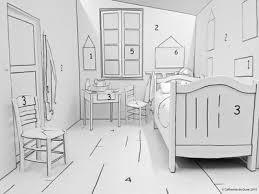 la chambre de vincent gogh musée des beaux arts à mons l activité range ta chambre