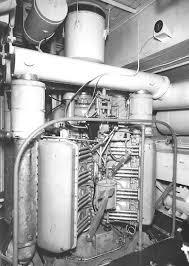 general motors electro motive 16 184 diesel engine old machine