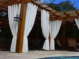 Outdoor Curtain Fabric by Curtains 5 Diy Ways To Add Shade To Your Deck Or Patio Amazing