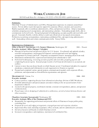 cover letter administrative specialist resume security