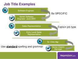 Resume Headline Examples For Software Engineer by Monster Webinar Maximize Your Job Posting Resume
