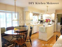 DIY Kitchen Makeover How To Paint Cabinets InMyOwnStyle - Diy paint kitchen cabinets