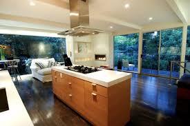 Natural Wood Kitchen Island Kitchen Minimalist Design Open Concept Kitchen Natural Wood