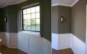 Definition Of Wainscot Image Of Elegant Dark Grey Wainscoting Installation Living