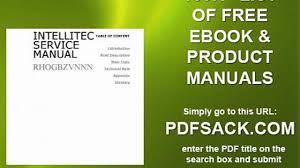 intellitec service manual video dailymotion