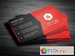 rise modern business card template 159080 free download