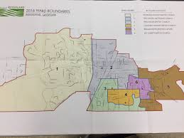 Map Of Chicago Wards by Elections Voting Map Of Ward Boundaries In Ridgeland Mississippi