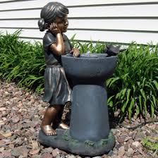 Backyard Fountains For Sale by Resin U0026 Fiberglass Fountains Lightweight Garden Water Fountains