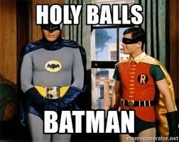 Batman Meme Generator - holy balls batman batman robin meme generator