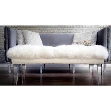 Pillow Top Bench Sleek Taupe Pillow Top Bench