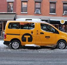 nissan nv200 taxi nissan nv200 testfahrt mit dem neuen new york taxi welt