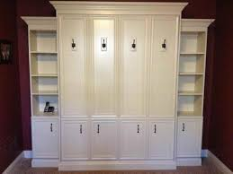 Full Size Diy Murphy Bed Ikea With White Cabinet Bed Murphy Bed