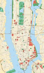 Map Ny Download Map Of Manhattan Ny Attractions Major Tourist