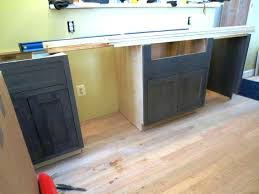 what size screws for cabinet hinges kitchen cabinet screws through backs of cabinets and shims