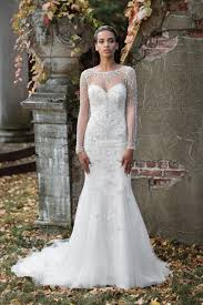 illusion neckline wedding dress e7434f3fd1e89913e1fa1117ce161652 jpg