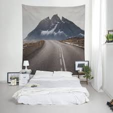 road tapestry iceland photography landscape photo wall tapestry