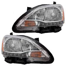 nissan sentra tail light cover autoandart com 13 15 nissan sentra new pair set headlight
