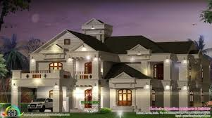 6 bedroom house plans luxury gorgeous luxury 6 bedroom villa kerala home design and floor