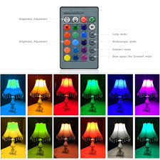 Rgb Led Light Bulb With Remote by E27 E14 5w 7w Rgb Led Light Bulb 16 Colors Change Dimmable Led