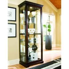 Curio Cabinets Memphis Tn Pulaski Cherry Curio Cabinet Wayfair