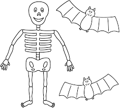 free halloween images to download coloring pages skeleton anatomy halloween printable free for