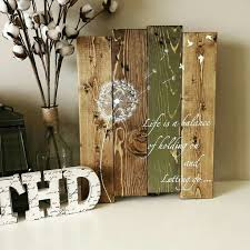 dandelion wood plaques wall 110 best tin hat designs images on pallet wood fixer