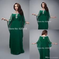 vintage dubai muslim evening gowns 2015 green plus size prom dress