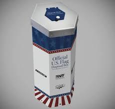 How To Dispose Of Us Flag Naco Flag Box Naco