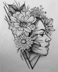 tattoo flower drawings ɖɍξδμ bξlɩξѵξ δcħɩξѵξ flowers pinterest paintings