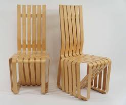Frank Gehry Outdoor Furniture by Pair Of Frank Gehry
