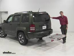 jeep liberty tow hitch maxxtow hitch cargo carrier review 2008 jeep liberty