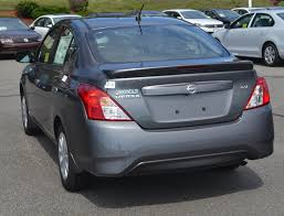 nissan versa fuel tank capacity new 2017 nissan versa sedan sv 4dr car in lawrence n2022